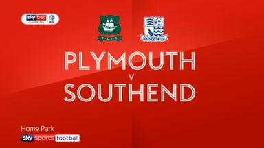 Plymouth 1-1 Southend