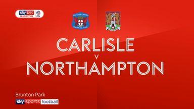 Carlisle 2-2 Northampton
