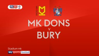 MK Dons 1-0 Bury