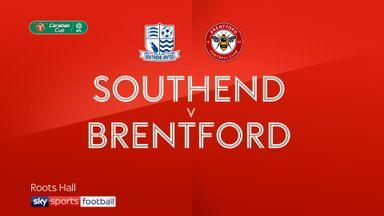 Southend 2-4 Brentford