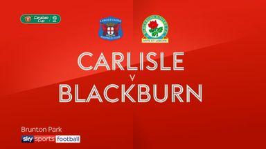 Carlisle 1-5 Blackburn