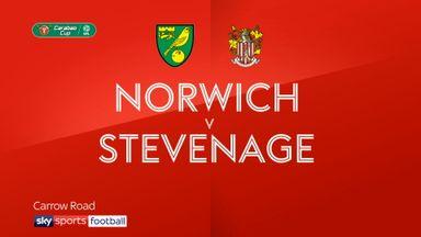 Norwich 3-1 Stevenage