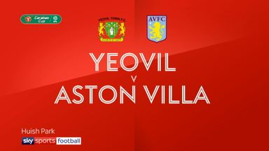 Yeovil 0-1 Aston Villa