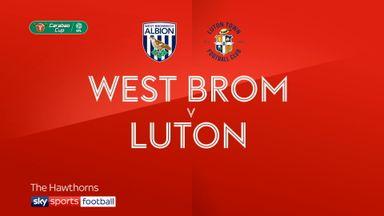 West Brom 1-0 Luton