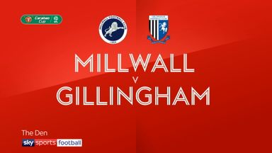 Millwall 0-0 Gillingham (3-1 pens)