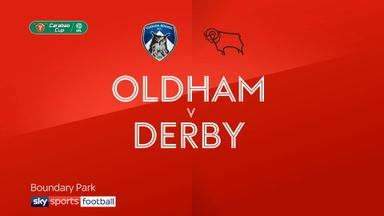 Oldham 0-2 Derby
