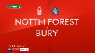 Nott'm Forest 1-1 Bury (10-9 pens)