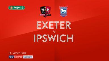 Exeter 1-1 Ipswich (4-2 pens)