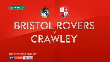 Bristol Rovers 2-1 Crawley