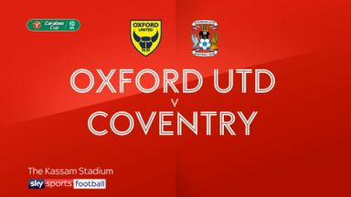 Oxford 2-0 Coventry
