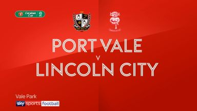 Port Vale 0-4 Lincoln