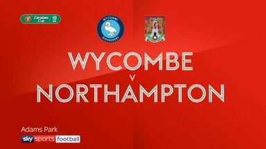 Wycombe 1-1 Northampton (7-6 pens)