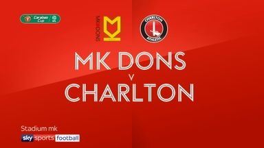 MK Dons 3-0 Charlton