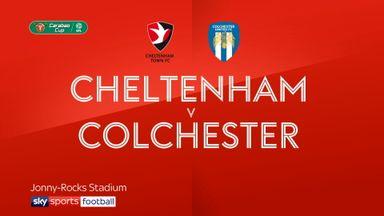 Cheltenham 2-2 Colchester (6-5 pens)