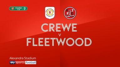 Crewe 1-1 Fleetwood (3-4 pens)