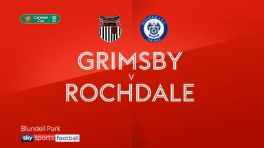 Grimsby 0-2 Rochdale