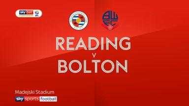 Reading 0-1 Bolton