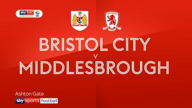 Bristol City 0-2 Middlesbrough