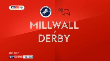 Millwall 2-1 Derby