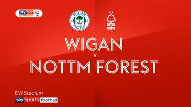 Wigan 2-2 Nott'm Forest