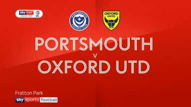 Portsmouth 4-1 Oxford Utd