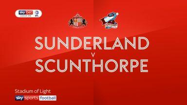Sunderland 3-0 Scunthorpe