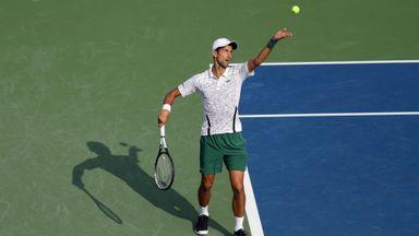 Djokovic v Federer: Highlights