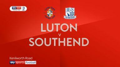 Luton 2-0 Southend