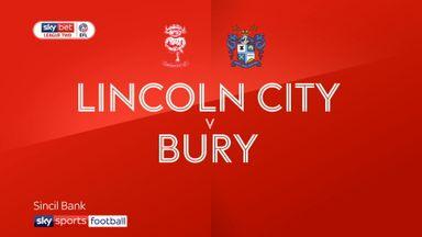 Lincoln 2-1 Bury