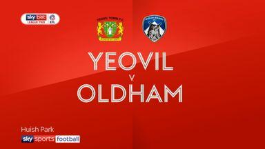 Yeovil 0-0 Oldham