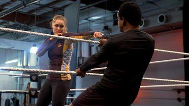 Rousey's hardcore SummerSlam training