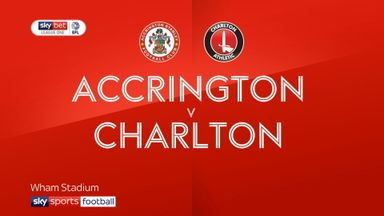 Accrington 1-1 Charlton