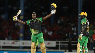 CPL: Trinbago v Jamaica highlights