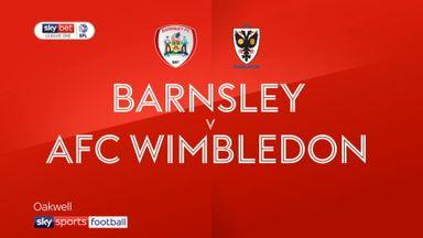 Barnsley 0-0 AFC Wimbledon