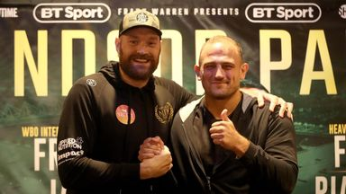 Fury: I'm the greatest heavyweight ever