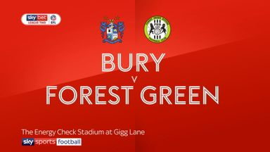 Bury 1-1 Forest Green