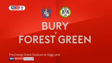 Bury 1-1 Forest Green