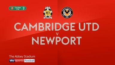 Cambridge 1-4 Newport