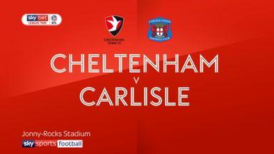 Cheltenham 0-1 Carlisle
