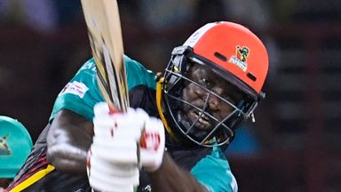 CPL: Guyana v St Kitts highlights