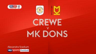 Crewe 0-0 MK Dons