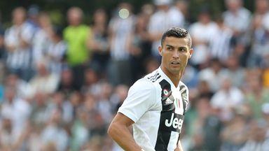 Ronaldo sings for team-mates