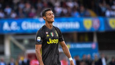 Ronaldo draws blank in Juventus win