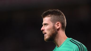 De Gea tops out of contract United stars