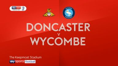 Doncaster 3-0 Wycombe