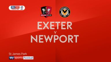 Exeter 1-1 Newport