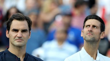 Federer: I want to play with Djokovic