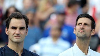 Federer: I want to play with Djokovic