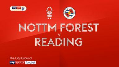 Nott'm Forest 1-0 Reading