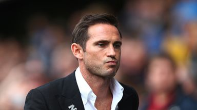 Lampard calls for Derby patience